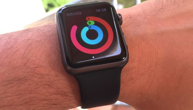apple watch attivita fisica