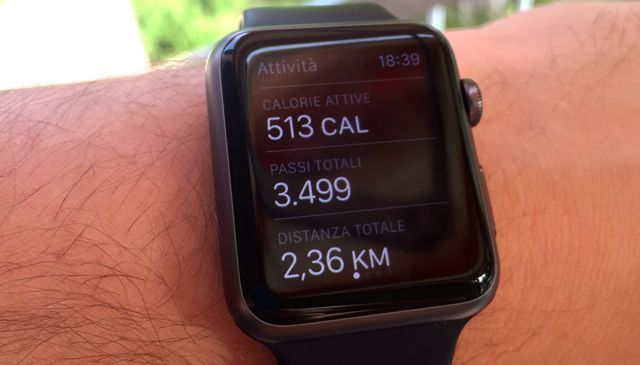 apple watch attivita fisica 2