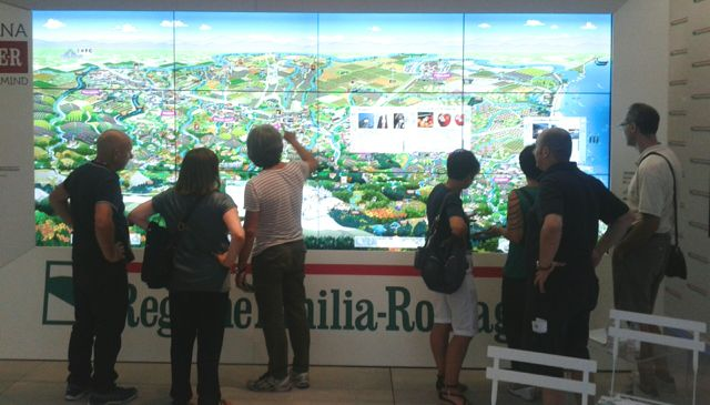Expo - Touch Wall Emilia-Romagna rid