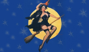 befana pin-up
