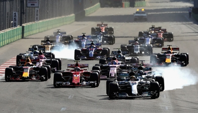 F1, Gp d'Azerbaijan: Street Fighters