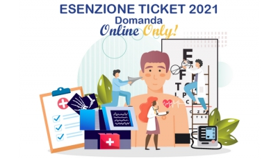 Esenzione ticket sanitario 2021