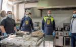 """Come è cambiata la """"Cucina da Campo"""" della Protezione Civile al tempo del """"coronavirus""""."""