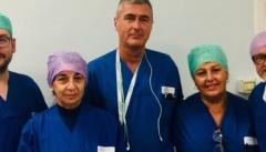 Ospedale di Mirandola, effettuato il primo prelievo multitessuto