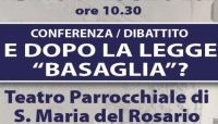 """Conferenza-dibattito: """"E dopo la legge Basaglia?"""""""