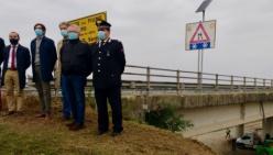Riaperto stamattina il Ponte Verdi sul Po di Ragazzola – San Daniele