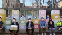 Un pacco per sorridere: uova di Pasqua e regali per l'Oncoematologia pediatrica del Maggiore