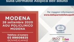 Dermatite Atopica dell'adulto: il 26 settembre consulti dermatologici gratuiti a Modena. Come prenotarsi