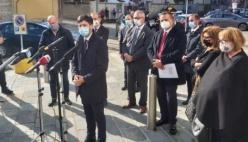 Il Ministro Speranza a Piacenza. Per il nuovo ospedale di altri 10 milioni di euro