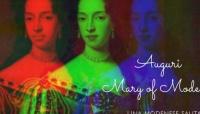 Celebrazione del 363° compleanno di Maria Beatrice d'Este (Mary of Modena)