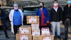 I Bar e la comunità cinese di Modena vicini ai nostri ospedali - DPI, mascherine, guanti, gel per le mani