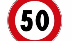 Limitazione della velocità a 50 km/h sulla Sp 12 a Soragna