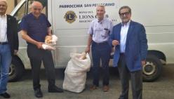 I Soci del Lions Club Reggio Emilia Regium Lepidi e Cispadana sostengono le attività delle parrocchie di San Pellegrino e del Buon Pastore