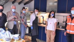 Modena a Tavola, piacere Modenae AVPA Croce Blu in aiuto dei bisognosi