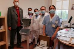 Croce Verde dona un nuovo strumento alla Pediatria del Santa Maria Nuova